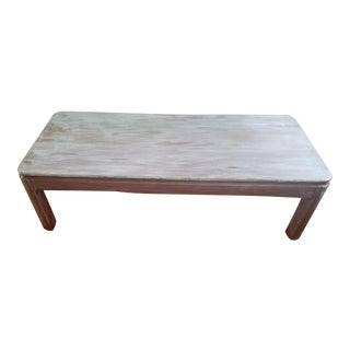 Vintage Solid Wood Coffee Table