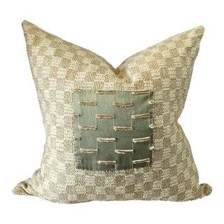 Beige Nubby Pillow