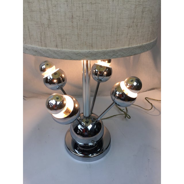 Atomic Chrome Table Lamp - Image 6 of 6
