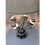 Image of Atomic Chrome Table Lamp