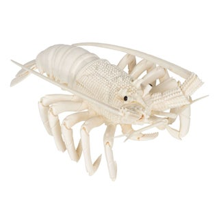 Bone Carved Lobster