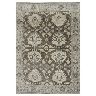 "Indian Oushak Rug - 8'3"" x 9'10"""