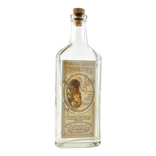 Vintage Style Cough Nostrum Remedy Bottle