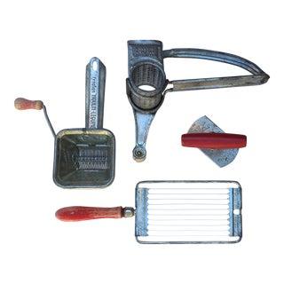Vintage Depression-Era Kitchen Utensils - Set of 4