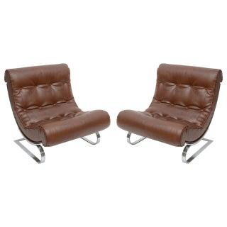 Formanova Club Lounge Chairs - A Pair