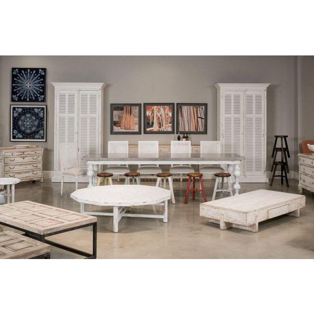 Sarreid Ltd Perth White Coffee Table - Image 8 of 8