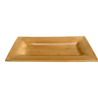Amber Rectangular Serving Platter