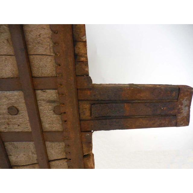 Wood and Iron Architectural Element - Image 7 of 8