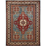 "Image of Traditional Hand Knotted Area Rug - 5'5"" X 7'"