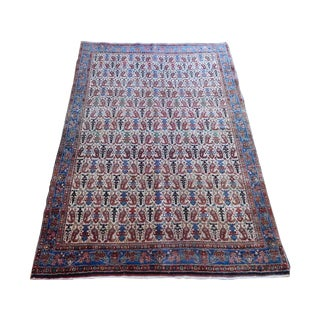 Old Bidjar Gerruss Kurdish Rug - 3′8″ × 5′4″