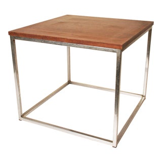 Davis Furniture Mid-Century Square Side Table