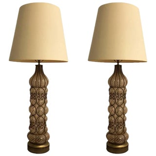 Italian Mid-Century Table Lamps - A Pair