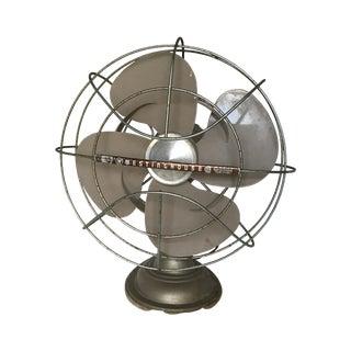 Vintage Industrial Art Deco Westinghouse Fan