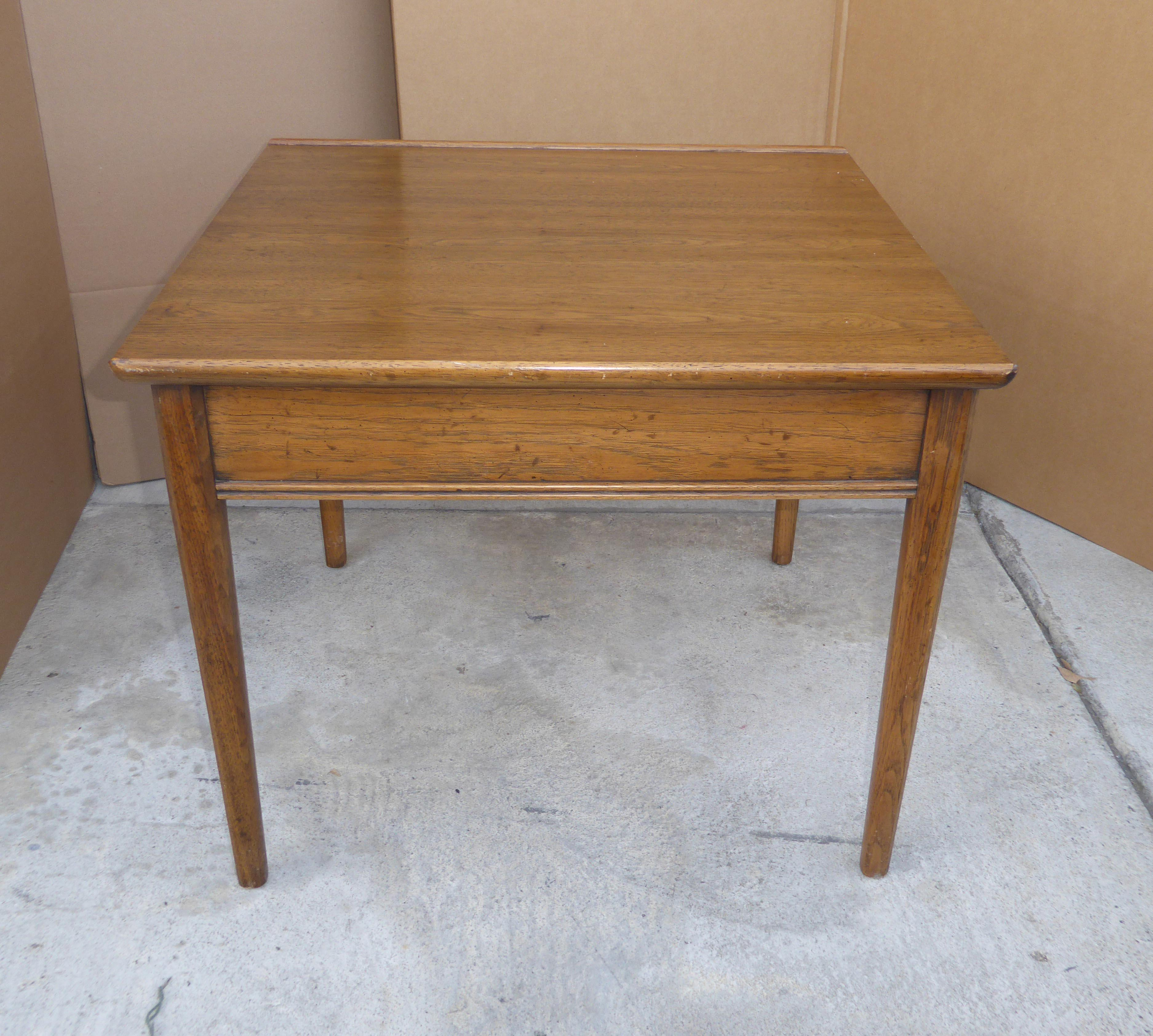 1967 Drexel Heritage Mid Century Modern Solid Wood End Table   Image 5 Of 11