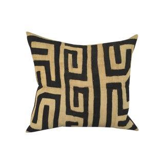 African Kuba Maze Pillow