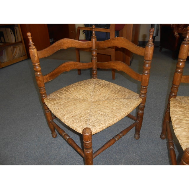 Corner Chairs - A Pair - Image 6 of 9