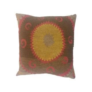 Vintage Uzbekistan Suzani Pillow