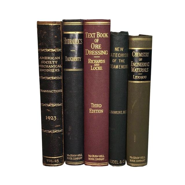 Vintage Display Books on Engineering - Set of 5 - Image 1 of 3