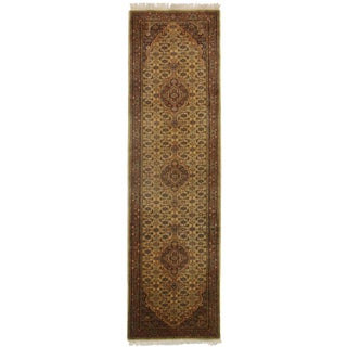 RugsinDallas Persian Style Hand Knotted Runner - 2′9″ × 9′10″
