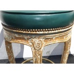 Image of French Provincial Cane Back Chic Bar Stools - 3