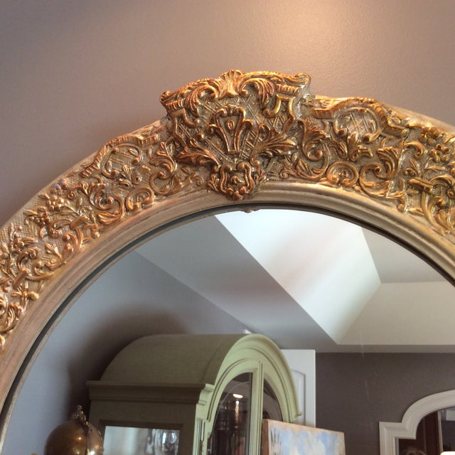 Carvers Guild White Pearl and Gold Mirror - Image 5 of 9