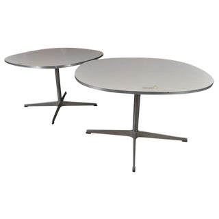 Pair of Fritz Hanson Tables Made in Denmark Designed by Bruno Mathsson