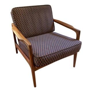 1960s Japanese Modern Teak Lounge Chair