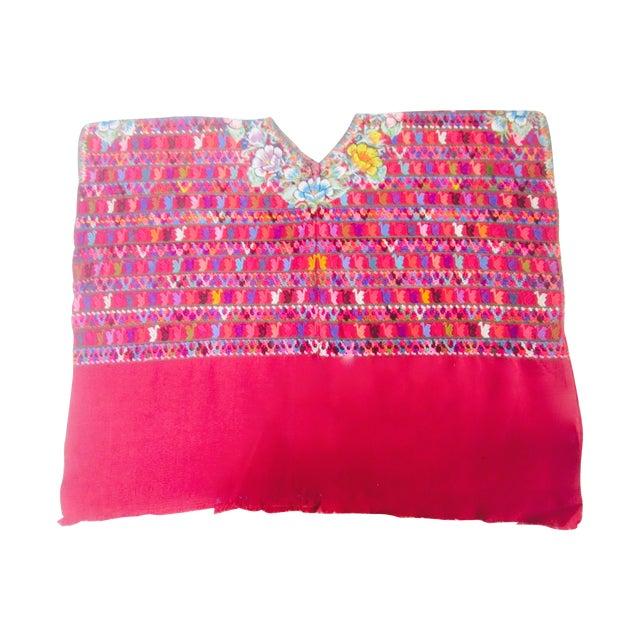 Guatemalan Fabric Boho Beach Textile - Image 1 of 10