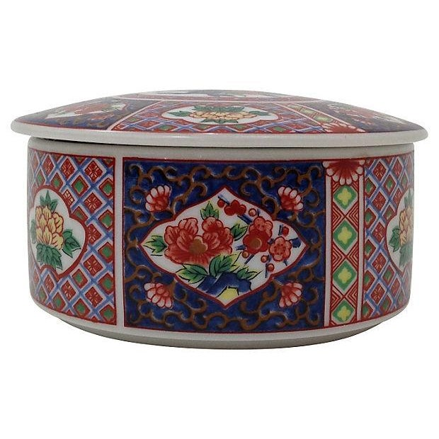 Round Imari Porcelain Box - Image 2 of 5