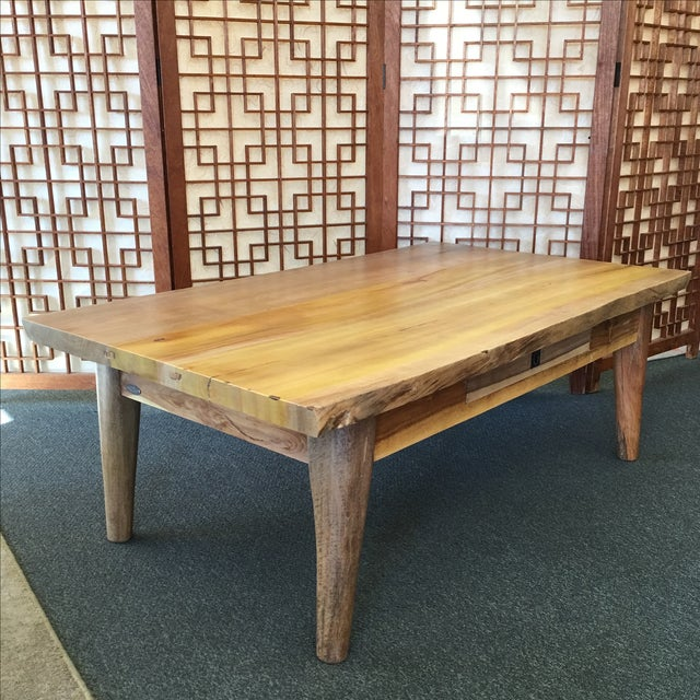 Salvaged Wood Cocktail Table - Image 4 of 10