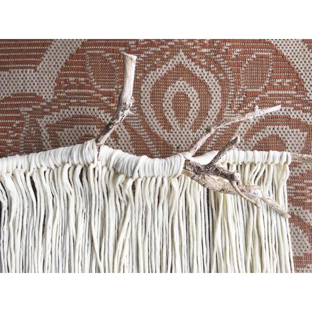 """Alyssa"" Minimalistic Rustic Macrame Wall Hanging - Image 6 of 7"