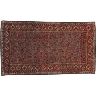 "Vintage Turkoman Behsir Rug - 4'7"" X 9'3"""