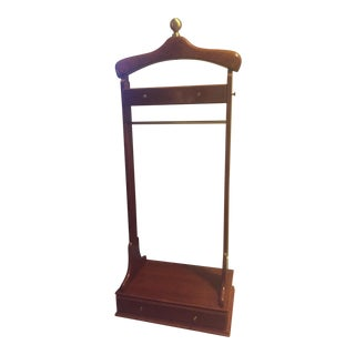 Vintage Bombay Co. Solid Wood Cherry Finish Valet