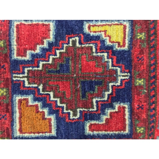 """Vintage Red Persian Rug - 1'11"""" x 2'4"""" - Image 6 of 9"""