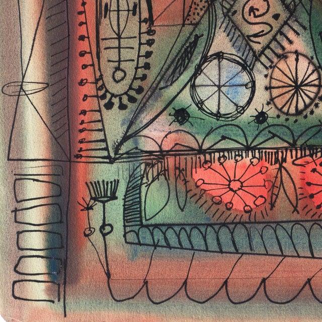 Robert Gilberg Vintage Dynamic Abstract - Image 5 of 7
