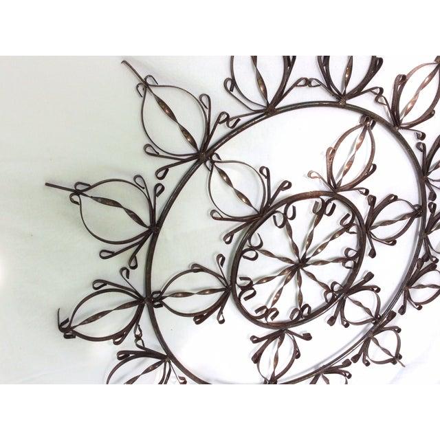 Ornate Metal Wall Hanging - Image 3 of 4