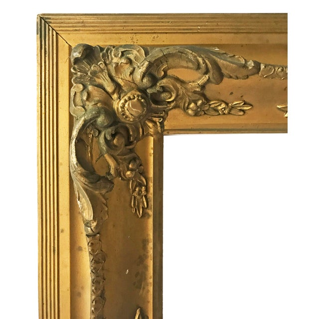 Antique Gilt Carved Picture Frame - Image 3 of 5