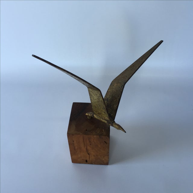 Curtis Jere Brass Seagull - Image 2 of 6