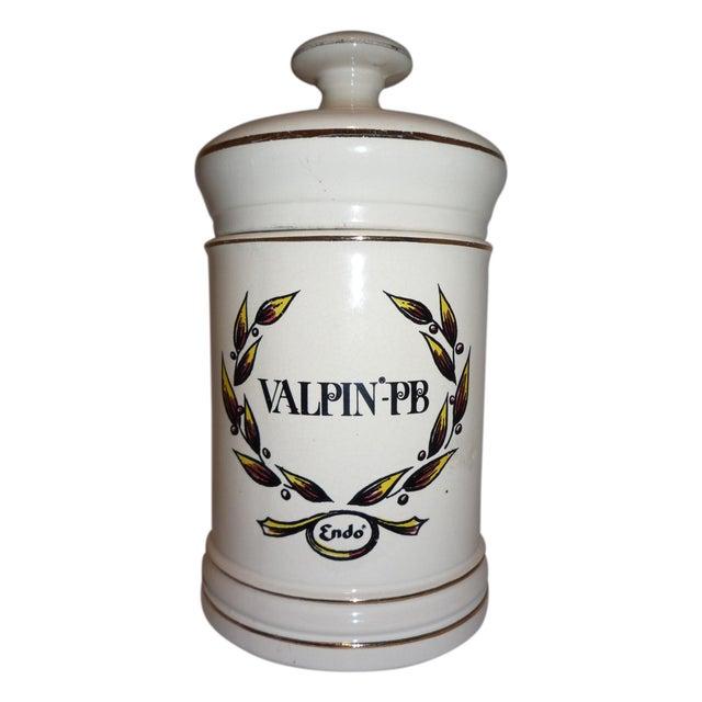 Vintage Valpin Apothecary Jar - Image 1 of 6