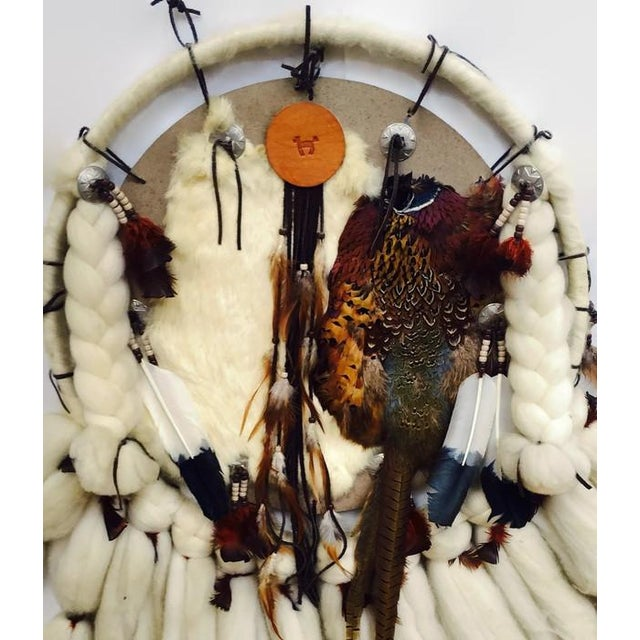 Vintage Native American Dream Catcher - Image 7 of 8