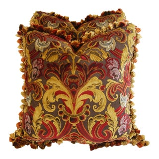 Designer Highland Court Velvet & Mohair Pillows - A Pair