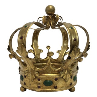 Florentine Gilt Metal Crown