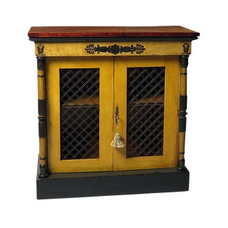 Early Regency Cabinet England