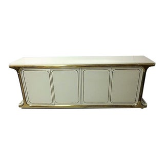 Regency Mastercraft Wood & Brass Cabinet