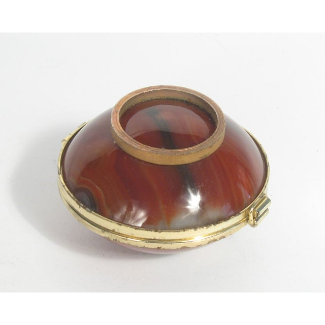 Round Agate Box - Image 4 of 4