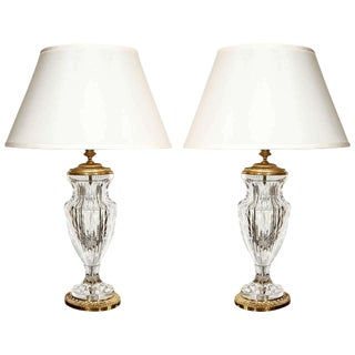 Cut Crystal Table Lamps- SALE!