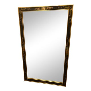 La Barge Black and Gold Mirror