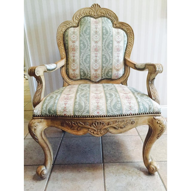 Traditional French Accent Chairs - A Pair - Image 4 of 5