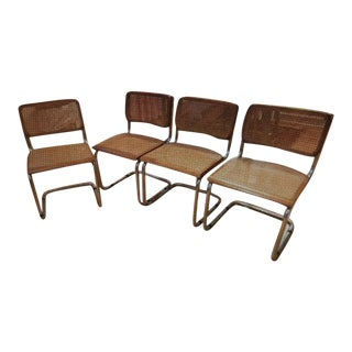 Cesca Style Dining Chairs - Set of 4