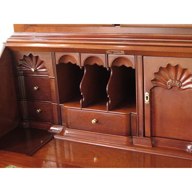 Kindel Winterthur Mahogany Goddard Secretary Desk - Image 4 of 11